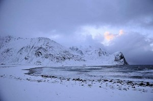 Undstad i Lofoten 1. desember